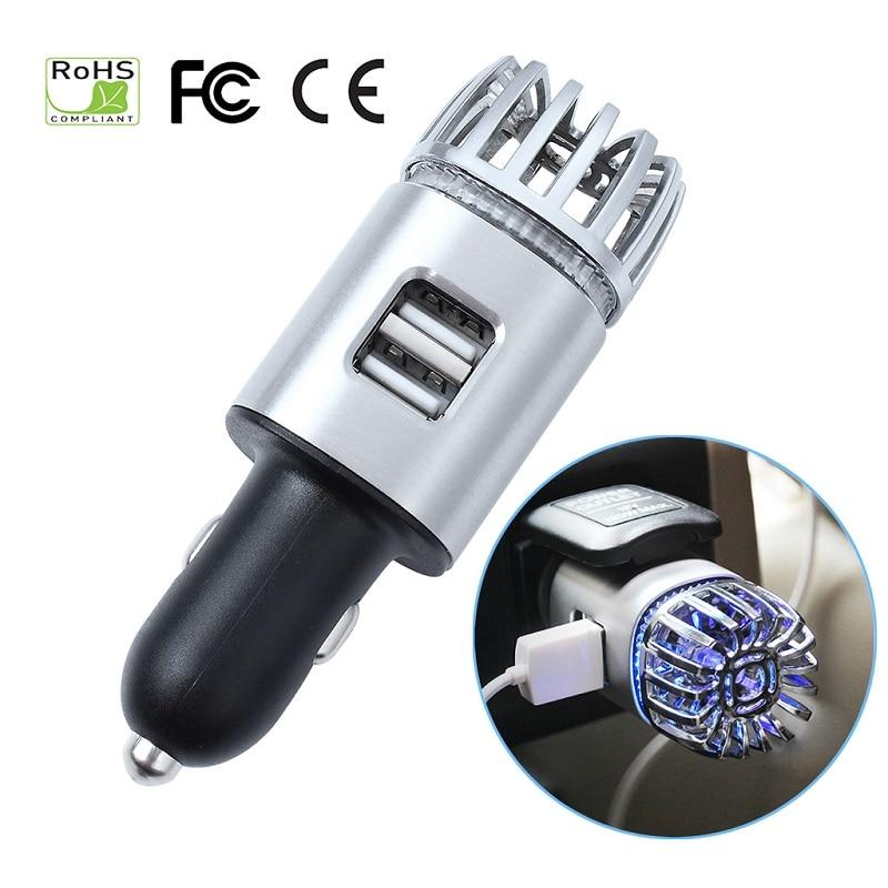 2 in 1 Car Charger Air Purifier