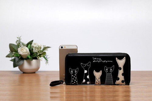 Accessories - Cat'astrophic: A Long Wallet Card Holder