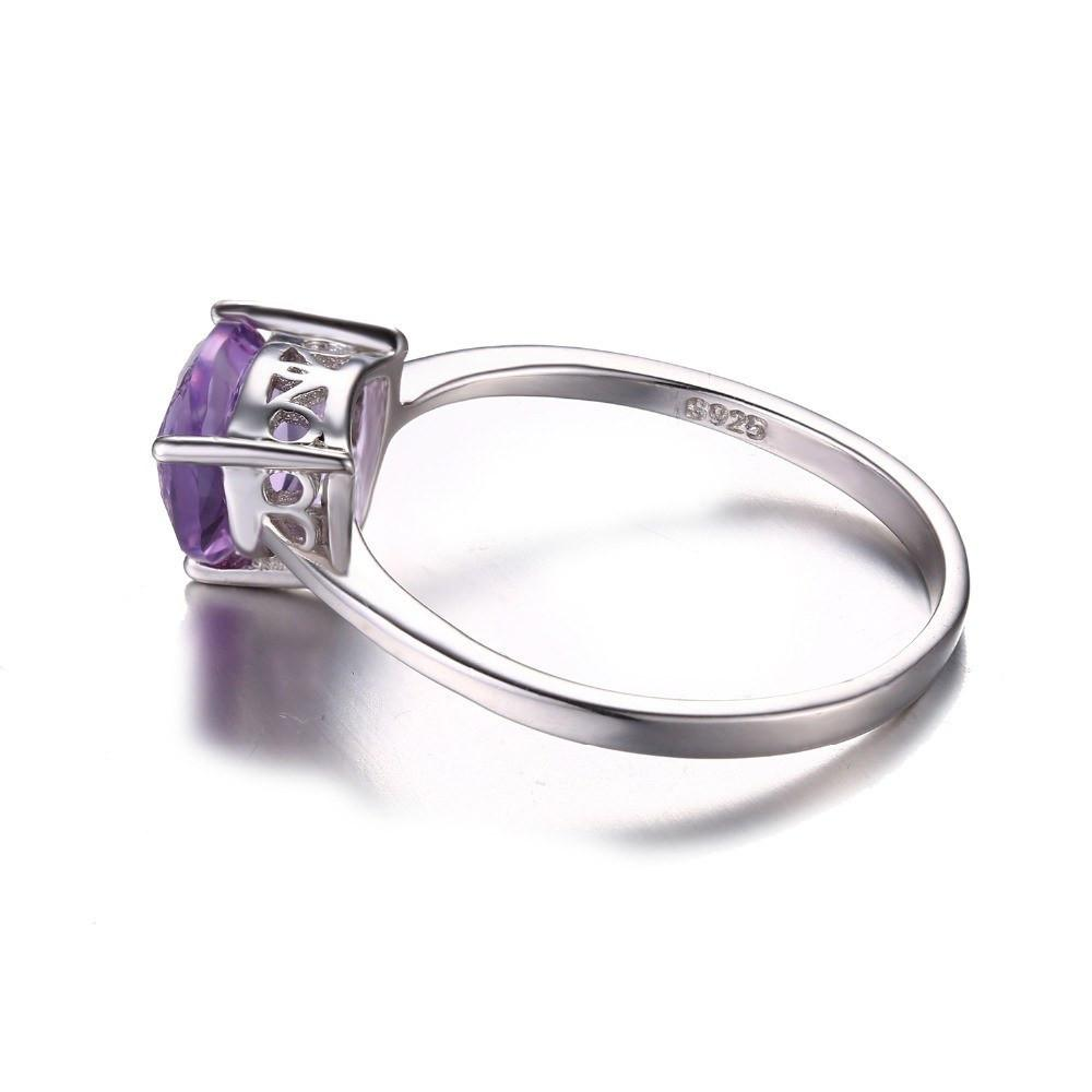Accessories - Classic Purple Amethyst Ring | Solid 925 Sterling Silver