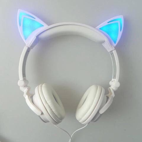 Gadgets - Cat Ear Headphones - With Glowing Ears