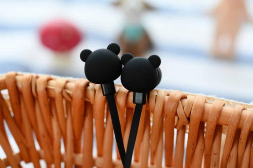 Gadgets - Cute Bear In-Ear Earbuds