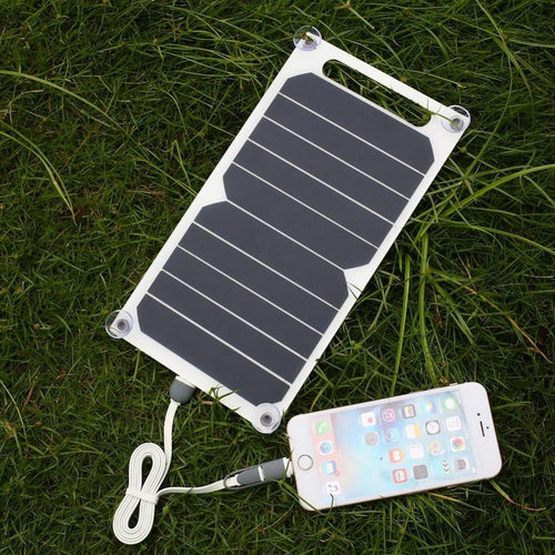 Gadgets - Solar Panel Phone Charger