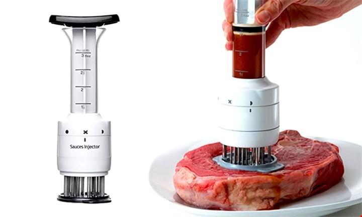 Sauce Injector and Meat Tenderizer