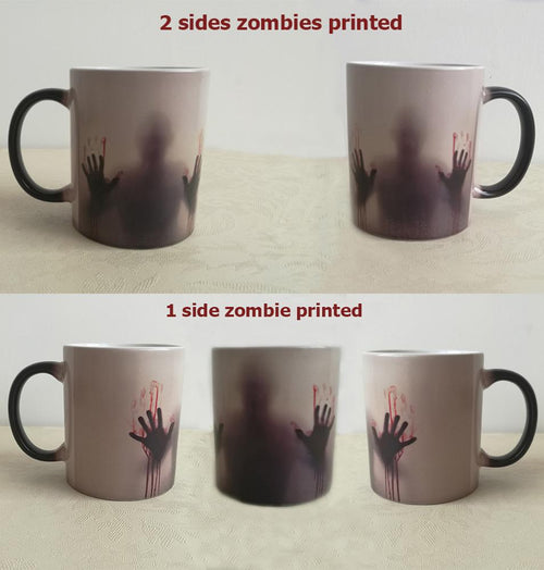The Color Changing Zombie Mug