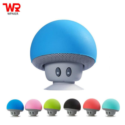 Wireless Mini Bluetooth Portable Speaker - Mushroom