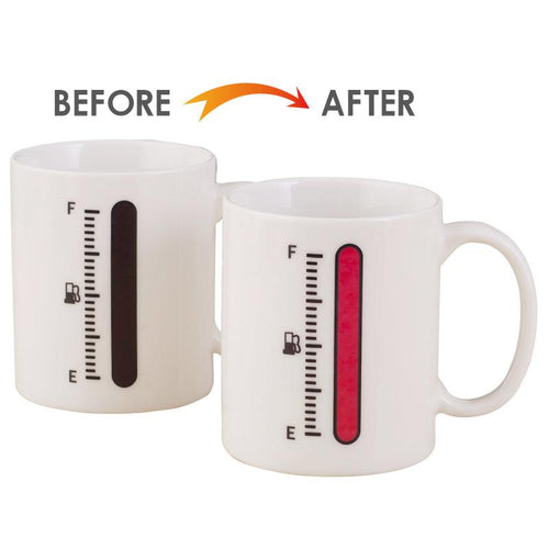 Magical Tank Up Coffee Gauge Mug