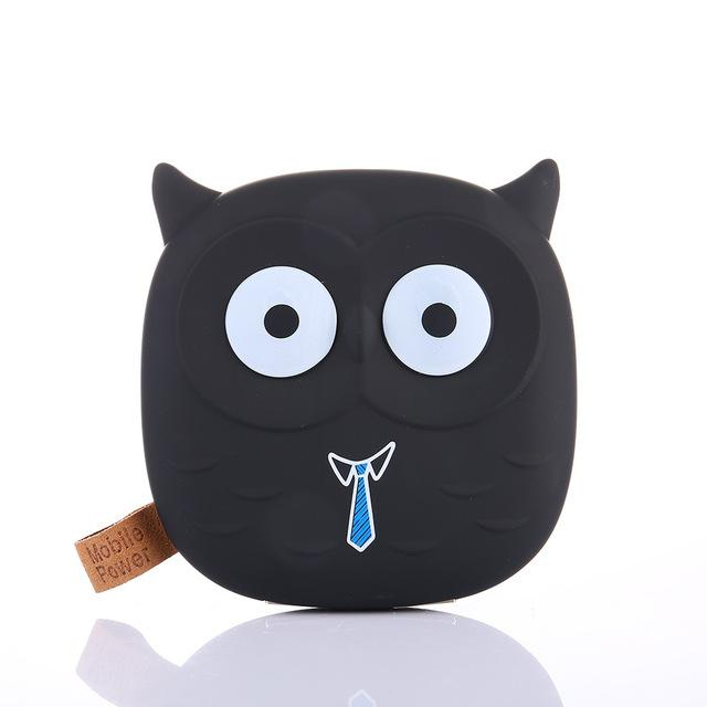 Cute Owl Power Bank