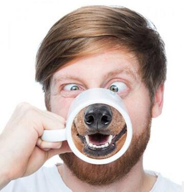 Ceramic Animal Nose Mugs