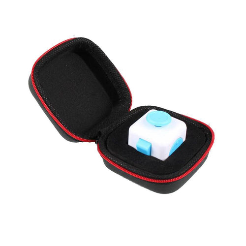 Fidget Stress Cube w/ Storage Box