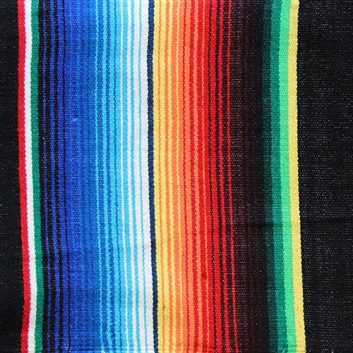 Mexican Blanket Black