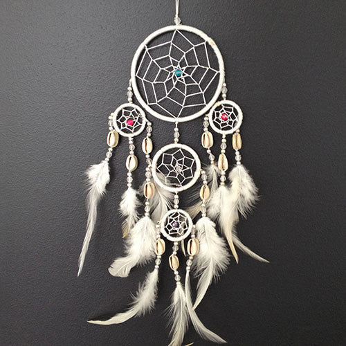 White Dreamcatcher Small