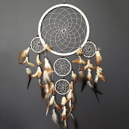 Sea Sun Folk White Dreamcatcher