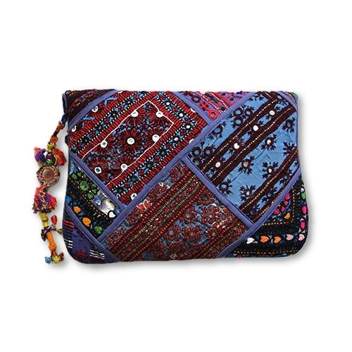 Cornflower Festival Clutch - SEA SUN FOLK