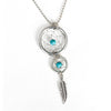 silver-dreamcatcher-necklace-turquoise