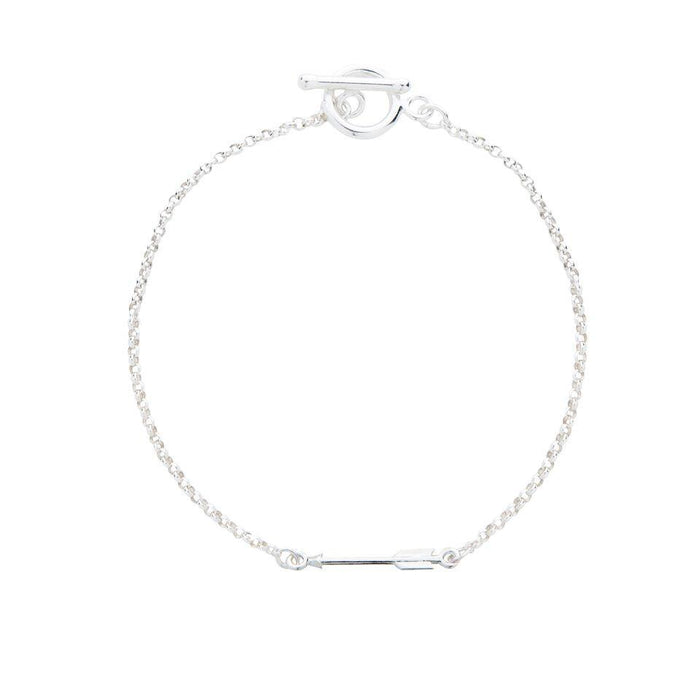 Arrow Bracelet in Silver