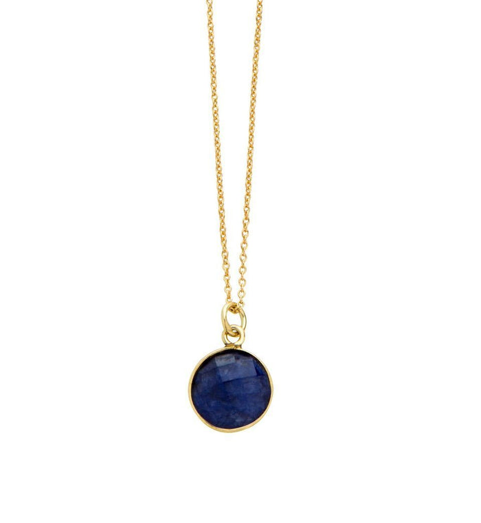 Wonder Gemstone Necklace in Sapphire