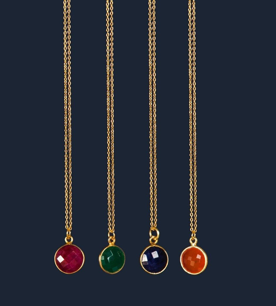 Wonder Gemstone Necklace