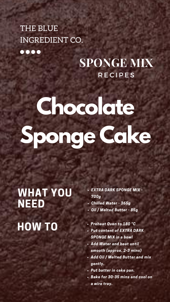 Recipe for Chocolate Sponge Cake