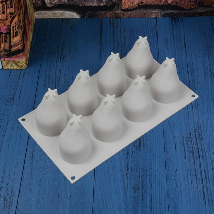 Buy OK-CHEF - Pear Shape 3D Silicone Cake Baking Mold For Mousse Truffle Brownies Pan Molds Silicone Pastry Tool Cakes