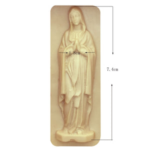 Buy OK-CHEF - Silicone mould Virgin Mary 3D Mold Soap Moulds Fondant Cake Decorating Baking Tools