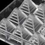 Buy OK-CHEF - 3D pyramid shape polycarbonate chocolate mold for DIY baking Plastic pastry candy mold Bakeware