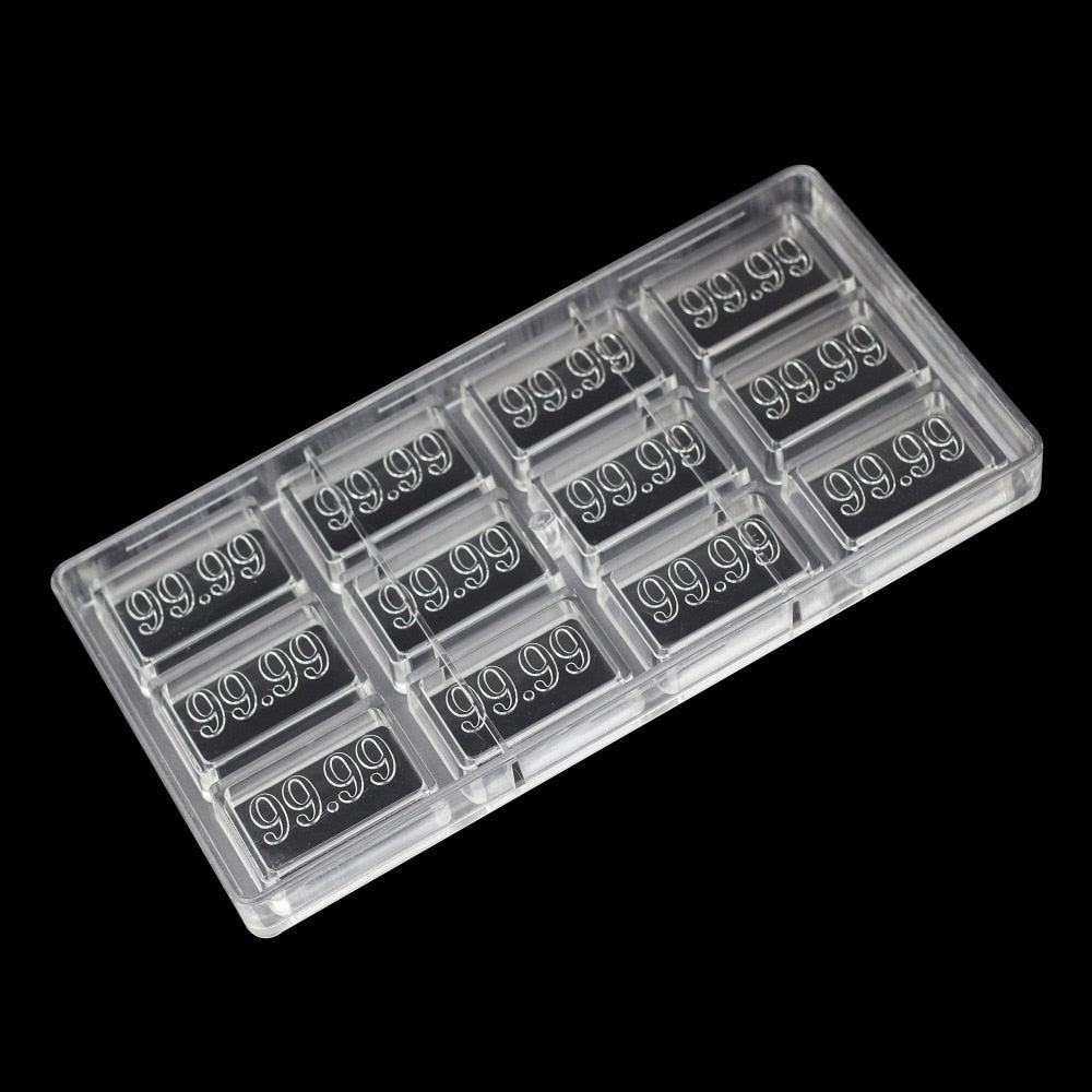 Buy OK-CHEF - 99.99 number shape pastry tool chocolate molds bakeware confectionery tools candy sweets supplies polycarbonate chocolate mould