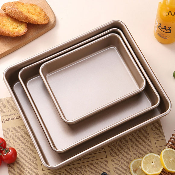 Buy Now 👉 Rectangular Baking Tray 9 Sizes Nonstick Carbon Steel Baking Pan Cake Baking Pan Cake Tools Baking Tools by #BlueIngredients #OkChef