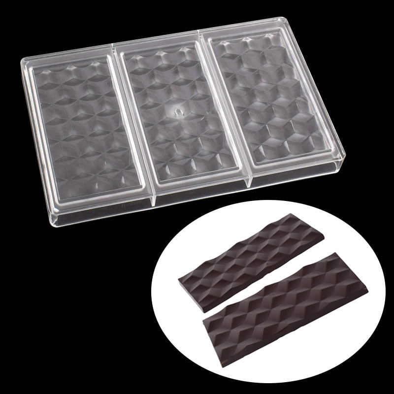 Buy OK-CHEF - 80g Polycarbonate Chocolate bar mold confectionery tools baking cake decoration candy chocolate moluds
