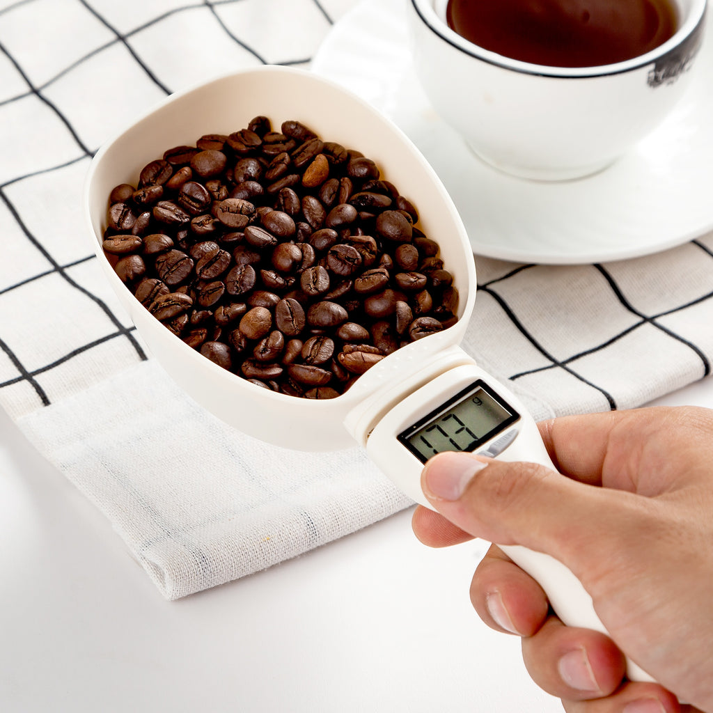 Buy OK-CHEF - Coffee Bean Grain Scale Cup Grain Bean Kitchen Scale Spoon Measuring Spoon Measuring Cup Portable with Electronic LED Display