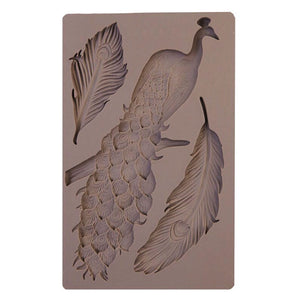 Buy OK-CHEF - Cake Decoration Peacock silicone mold fondant mold cake decorating tools chocolate gumpaste