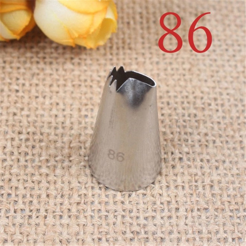 Buy OK-CHEF - 1Pcs Pastry Nozzles High Quality 304 Stainless Steel Icing Piping Nozzles Cream Tips Cake Decorating Tools Bakeware #86