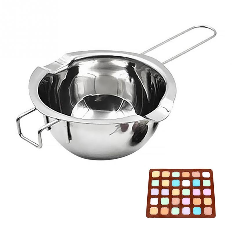 Buy OK-CHEF - Stainless Steel Chocolate Melting Pot Double Boiler Milk Bowl Butter Candy Warmer Pastry Baking Tools