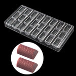 Buy OK-CHEF - 24 hold Diamond surface Strip Chocolate bar Molds,bonbon cake decoration Polycarbonate candy mold,Dessert Bakeware baking mold