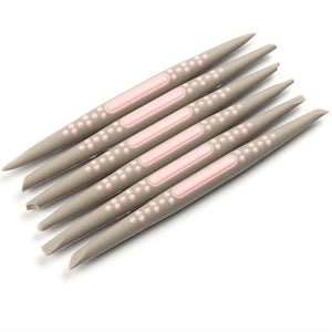 Buy OK-CHEF - 6 pcs/set Silicone Fondant Cake Decorating Flower Modelling Pen Sugarcraft Flower Modelling Tools Cake Sculpture Clay Mold