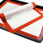 Buy OK-CHEF - 3 Pieces Non Stick Silicone Cookie Baking Sheets 3 Pieces Silicon Baking Mat