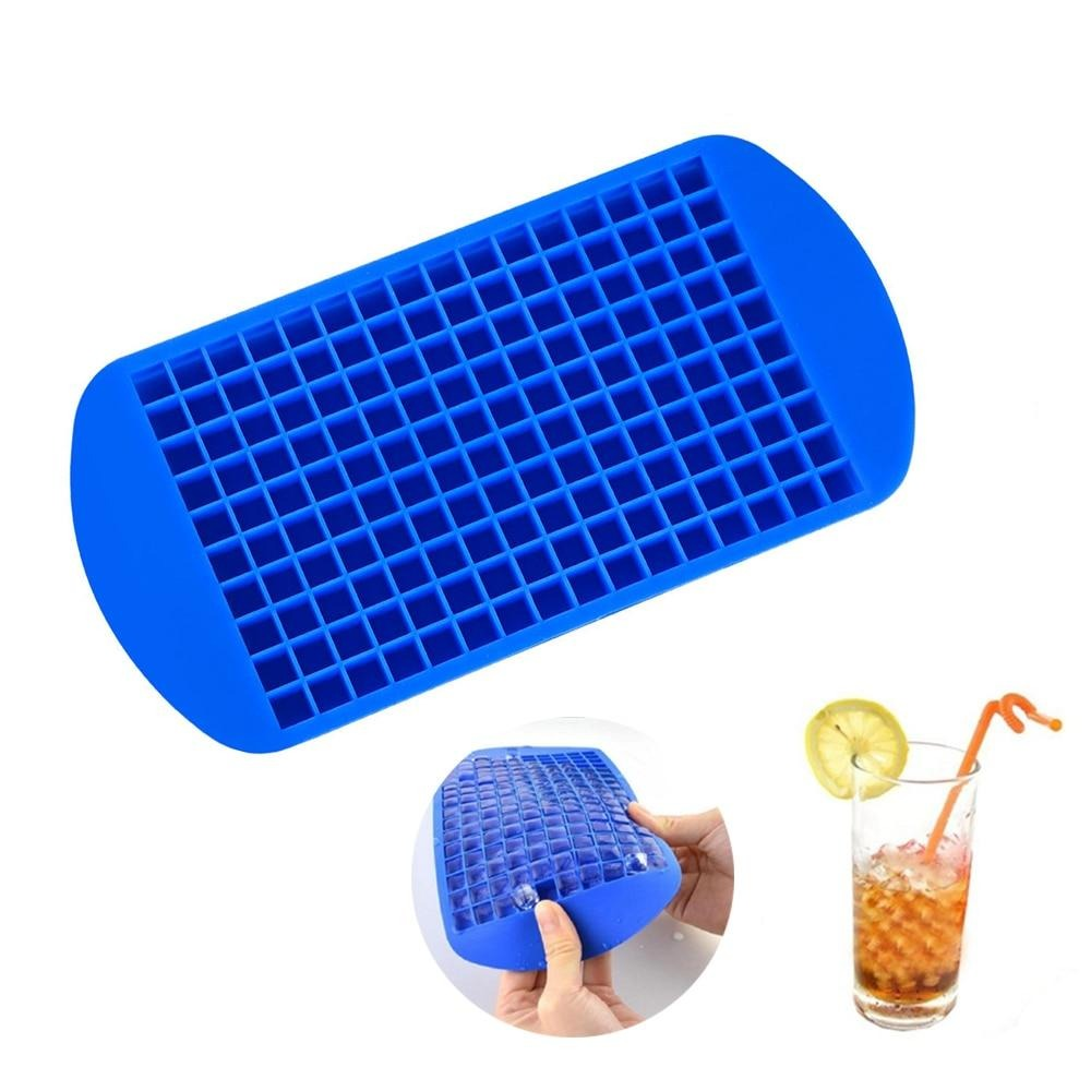 Buy OK-CHEF - 160 Grids Mini Ice Cube Mold Reusable Silicone Mould for DIY Making Small Square Frozen Ice Cubes