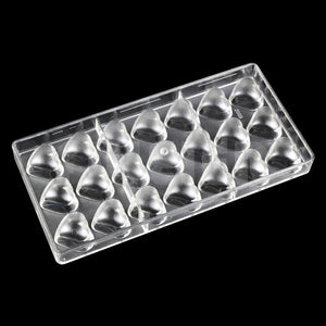 Buy OK-CHEF - Bakeware Valentine's Day heart shape plastic chocolate mold,kitchen polycarbonate chocolate mold cake chocolate dish pastry tool