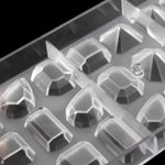 Buy OK-CHEF - DIY gem shape polycarbonate chocolate mold, baking Candy confectionery tool baking candy cake decoration chocolate mold