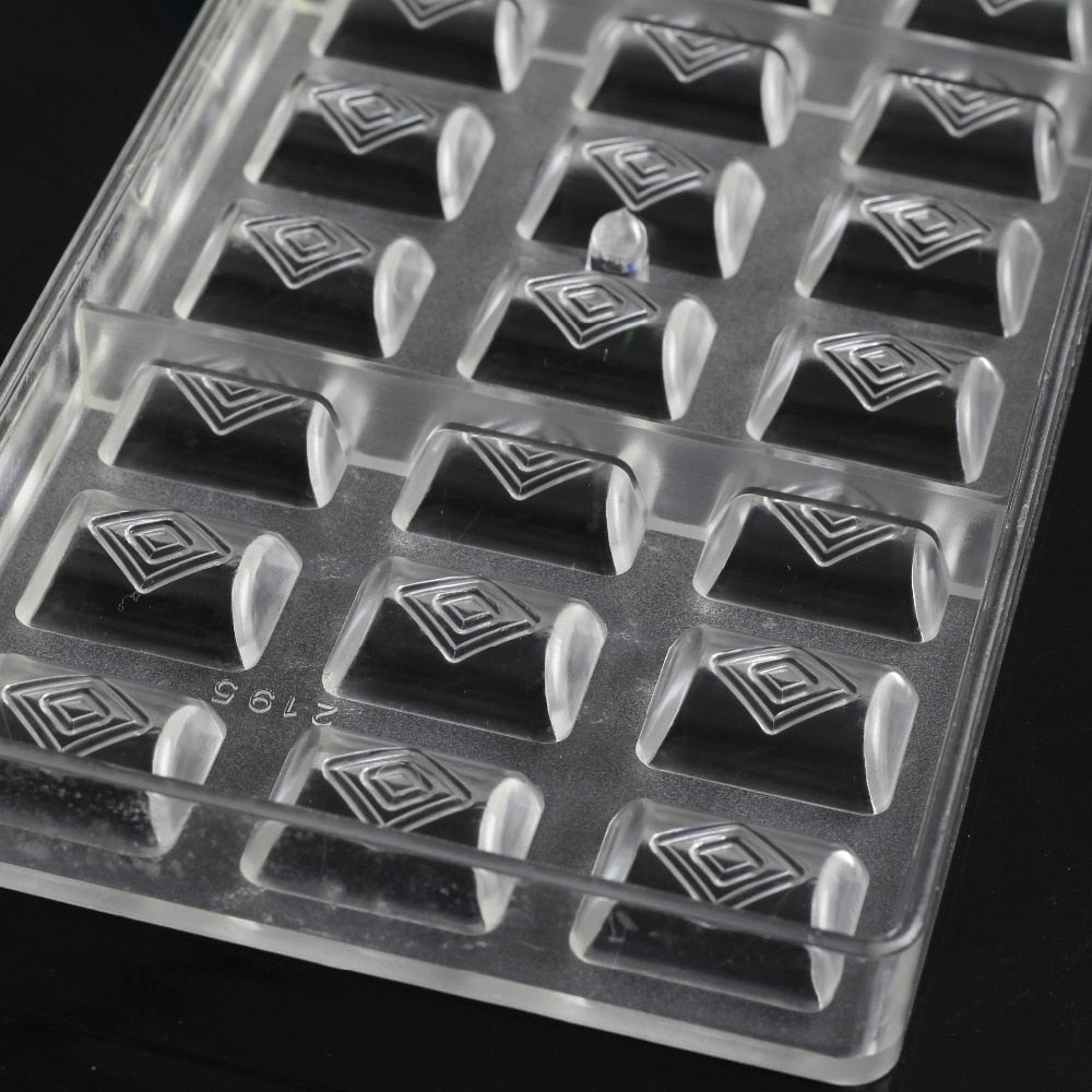 Buy OK-CHEF - DIY bakeware polycarbonate chocolate moulds Valentine's Day candy chocolate mold baking confectionery tools