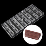 Buy OK-CHEF - New design Irregularly shaped polycarbonate chocolate bar mold, cake Decoration mold Confectionery tools Candy Moulds
