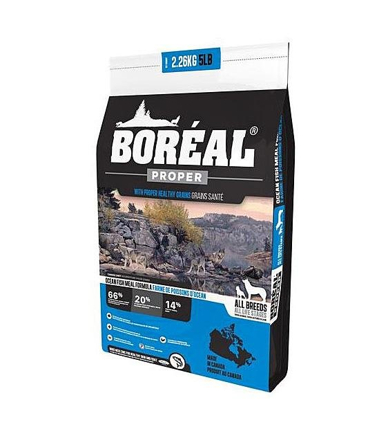 30% OFF + FREE 2.26KG: Boreal Proper All Breed Ocean Fish Meal Dry Dog Food