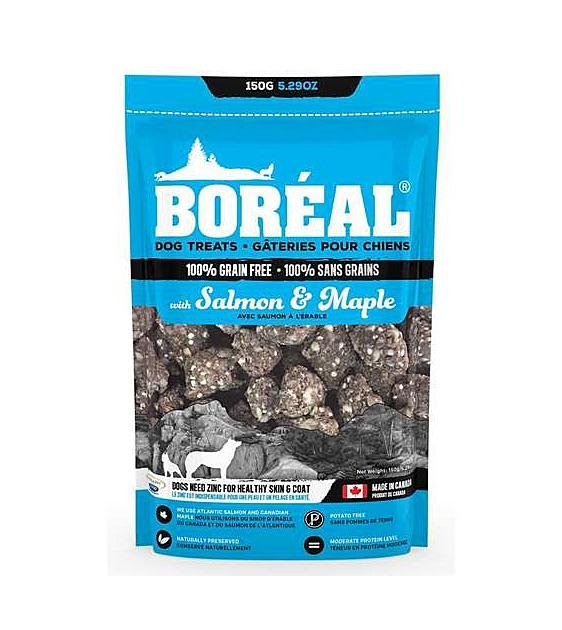 20% OFF: Boreal Salmon & Maple Grain Free Dog Treats