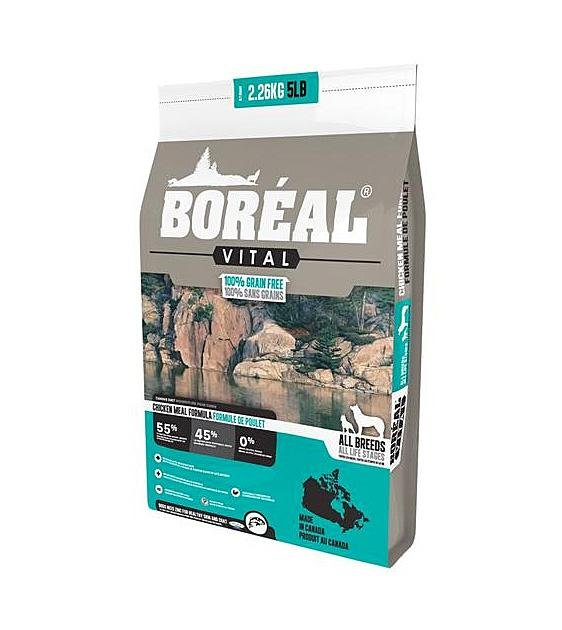 20% OFF: Boreal Vital All Breed Grain Free Chicken Meal Dry Dog Food