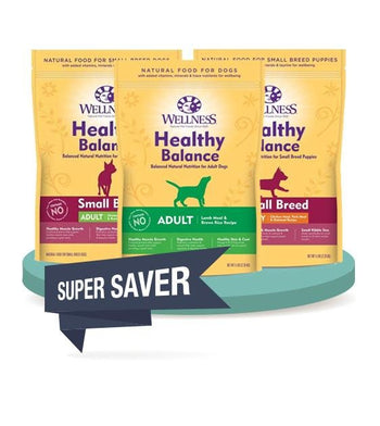 28% OFF: Wellness Healthy Balance Dry Dog Food