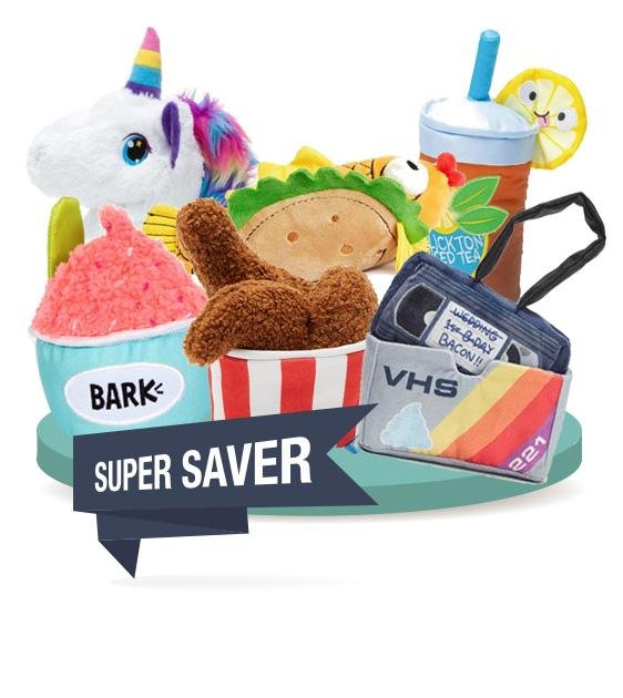 2 FOR $30 [SAVER BUNDLE]: Barkshop Dog Plush Toy