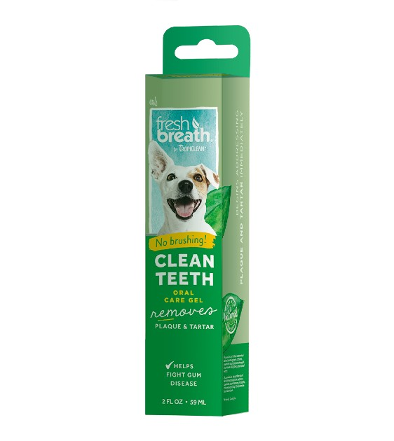 Tropiclean Fresh Breath - No Brushing Clean Teeth Gel for Dogs (Original)