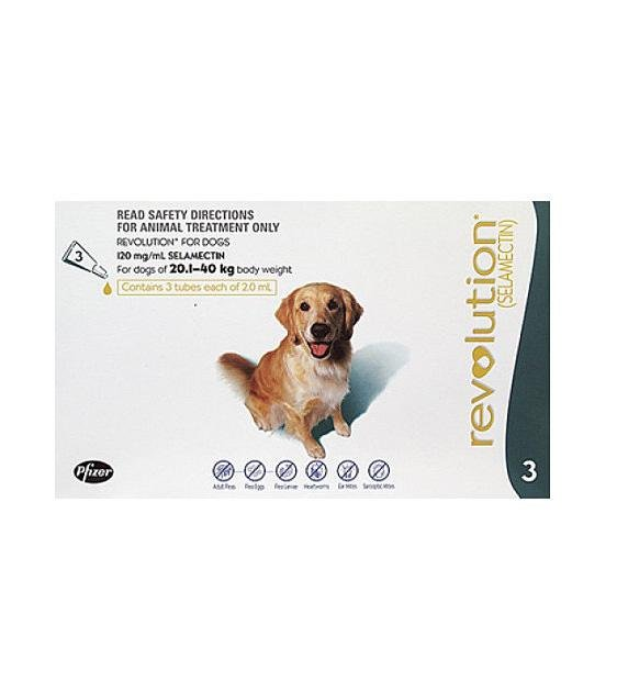 32% OFF: Revolution Heartworm, Flea & Tick Treatment For Large Dogs (40.1 lbs - 85 lbs)
