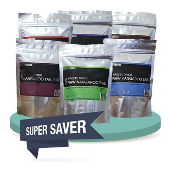 3 FOR $44 [SAVER BUNDLE]: Freeze Dry Australia Freeze Dried Dog Treats