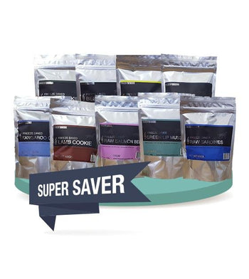 3 FOR $56 [SAVER BUNDLE]: Freeze Dry Australia Freeze Dried Dog Treats