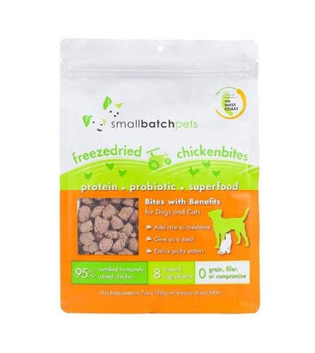 Small Batch Freeze Dried Chicken Bites Cat & Dog Food Mixer